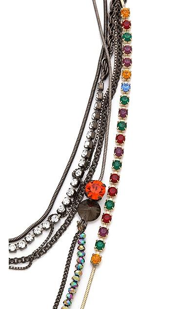 Iosselliani Jasper Multiwires Necklace