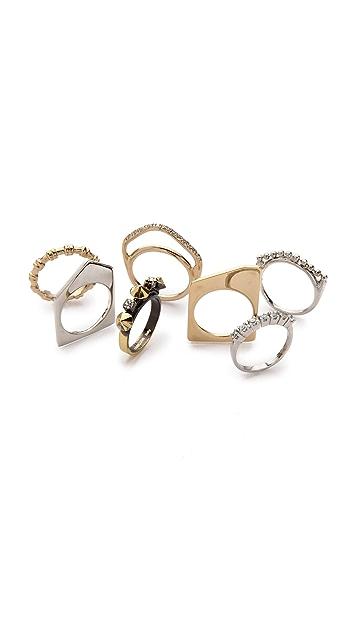 Iosselliani Crystal Stacking Rings