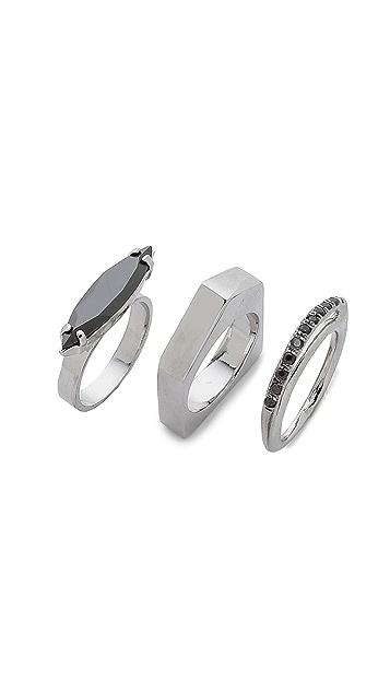 Iosselliani Navette Ring Set