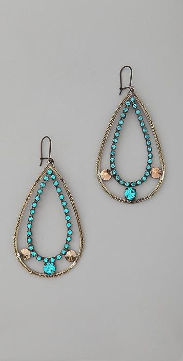 Iosselliani Fused Stone Earrings