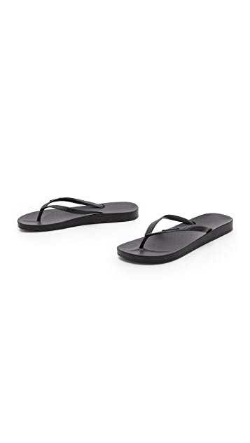 Ipanema Ana Tan Footbed Flip Flops
