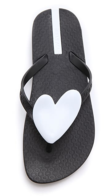 Ipanema Neo Love Heart Flip Flops