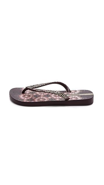 Ipanema Mandala Flip Flops