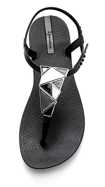 Ipanema Mosaic Embellished Sandals