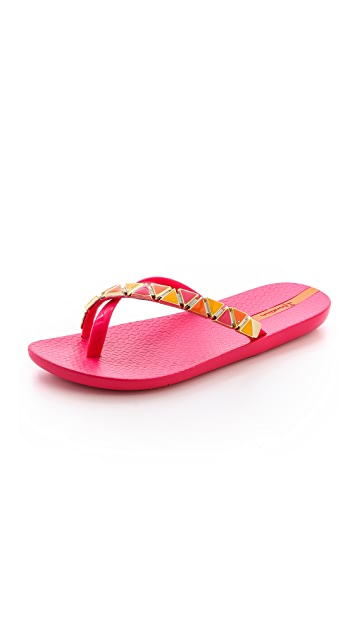 628e69f008a6a4 Ipanema Imperial Embellished Flip Flops