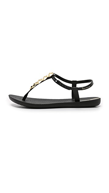 Ipanema Cleo Shine T-Strap Sandals