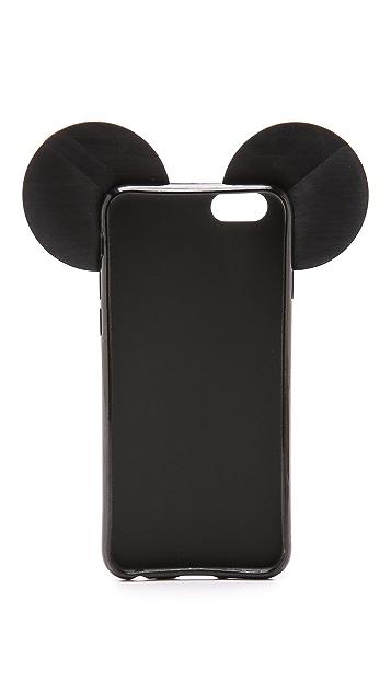 Iphoria Чехол для iPhone 6/6s с изображением медведя в полоску