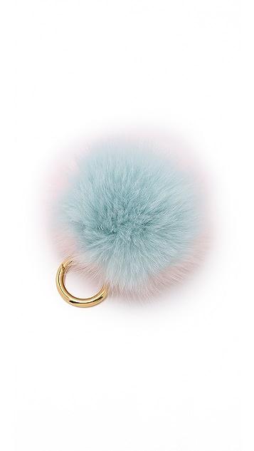 Iphoria Fur Pom Bag Charm