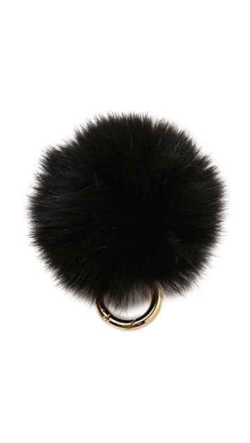 Iphoria Fur Pom Bag Charm