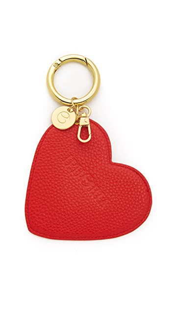 Iphoria Red Heart Bag Charm