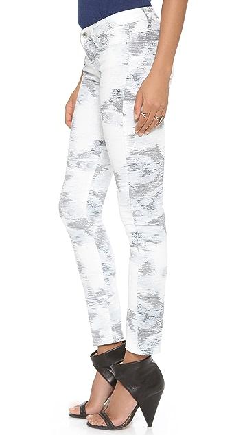 IRO.JEANS Aden Printed Skinny Jeans