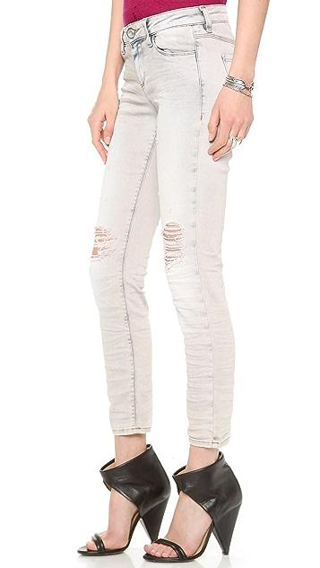 IRO.JEANS Cortez Distressed Skinny Jeans