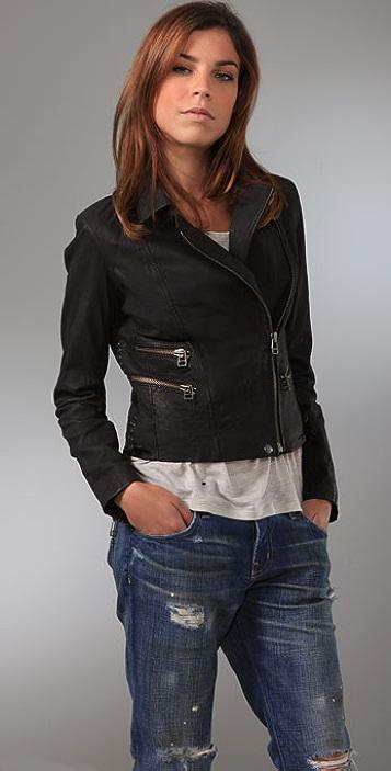 IRO Lynn Leather Jacket