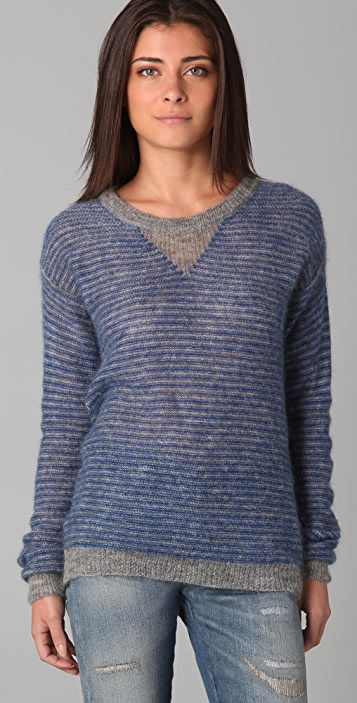 IRO Leonia Striped Sweater