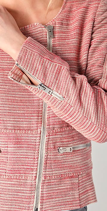 IRO Haven Jacket with Zippers