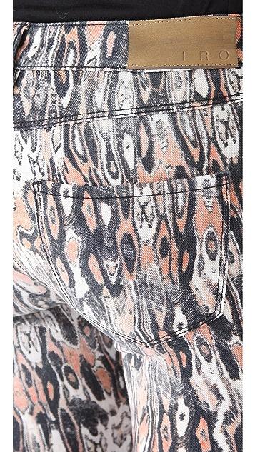 IRO Delia Printed Jeans