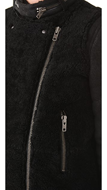 IRO Tereza Shearling Coat