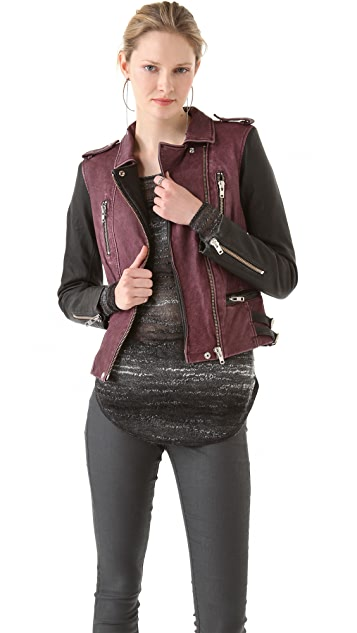 IRO Anabela Leather Jacket