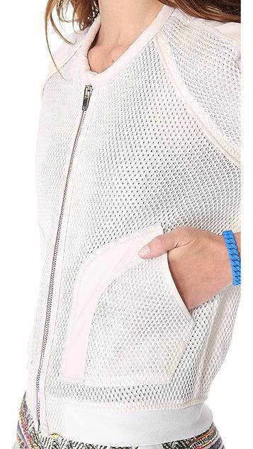 IRO Kento Perforated Combo Jacket