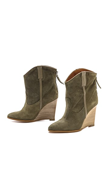 IRO Merrick Wedge Booties
