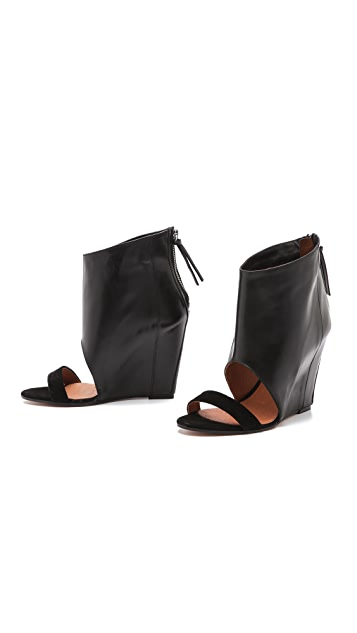 IRO Manel Wedge Sandals