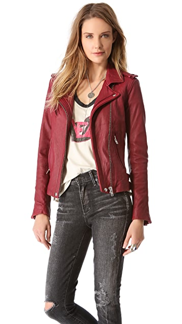 IRO Han Leather Jacket