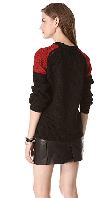 IRO Piper Colorblock Sweater