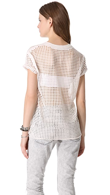 IRO Taylor Perforated Tee