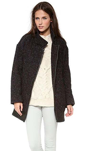 IRO Knight Boucle Coat