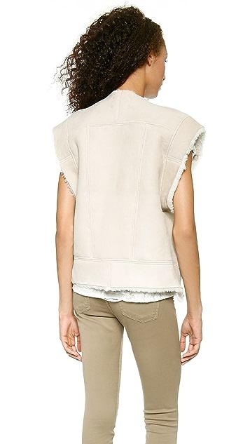 IRO Issa Shearling Vest