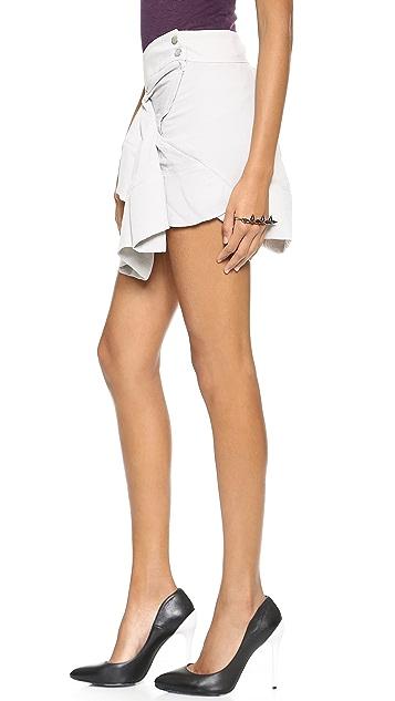 IRO Alixie Ruffle Skirt