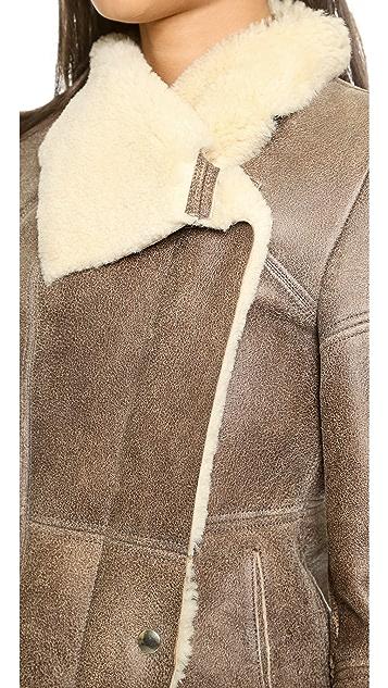IRO Jemma Shearling Coat