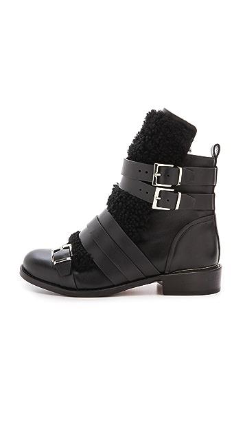 IRO Hoonah Shearling Flat Boots