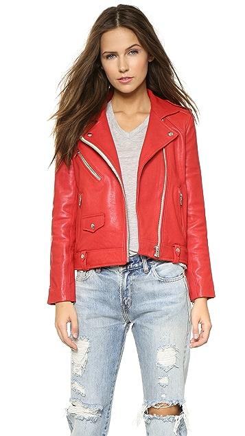 IRO Zayone Leather Jacket