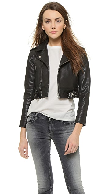 IRO Zekine Leather Jacket