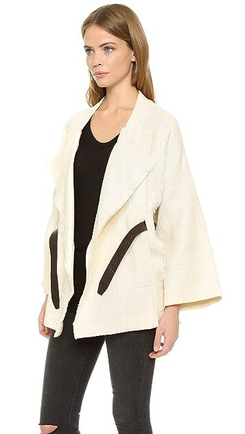 IRO Ambar Belted Jacket
