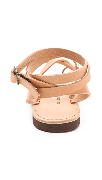 ISAPERA Lemonia Strappy Sandals