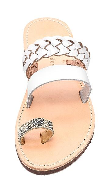 ISAPERA Iliotropio Two Band Sandals