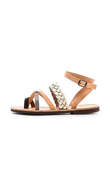 ISAPERA Lemonia Strappy Sandals
