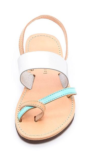 ISAPERA Narcissus Sandals