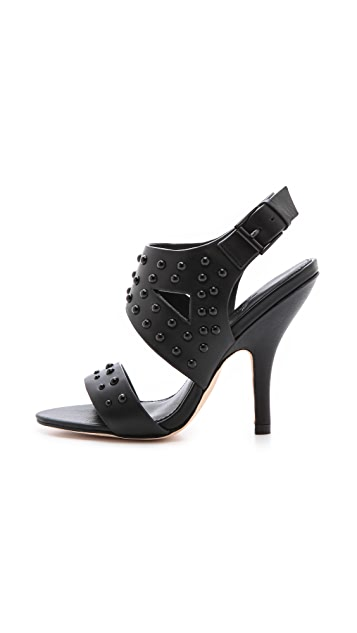 Isa Tapia Roxie Studded Sandals
