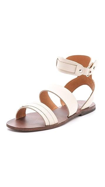 ISHVARA Barcelona Flat Sandals
