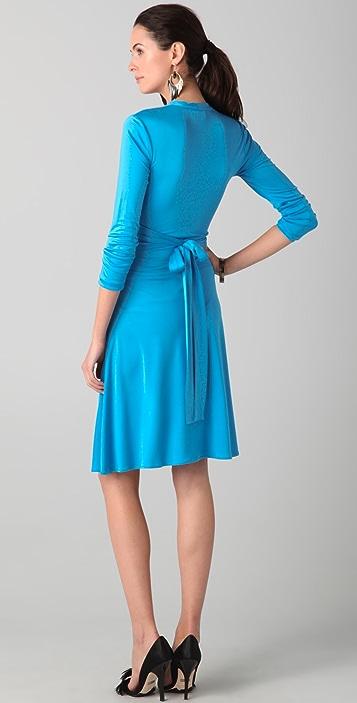 ISSA Faux Wrap Dress