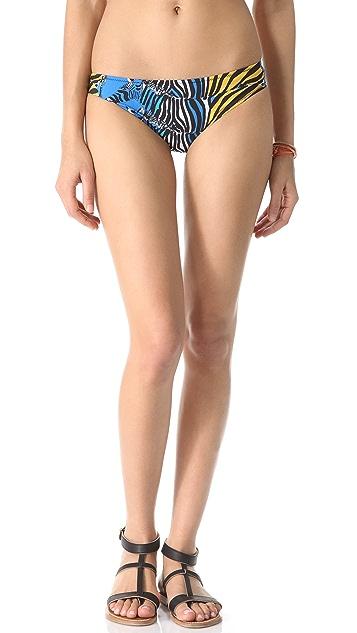 ISSA Zebra Print Bikini Bottoms
