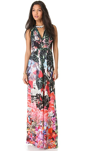 ISSA Dondi Floral Gown