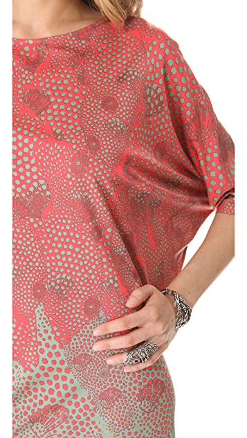 ISSA Dolman Sleeve Dress