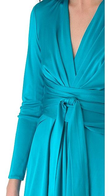 ISSA Wrap Front Dress