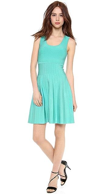 ISSA Rayon Rib Dress