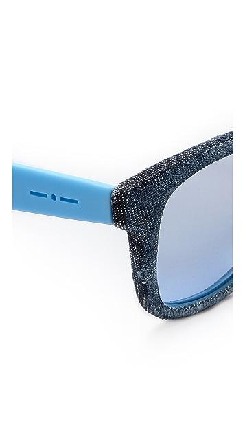 Italia Independent Denim Sunglasses
