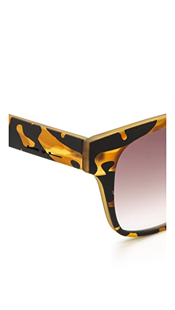 Italia Independent Square Gradient Sunglasses
